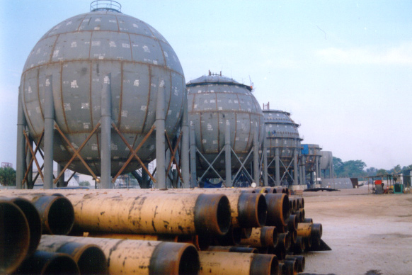 73' Diameter ASME Spheres