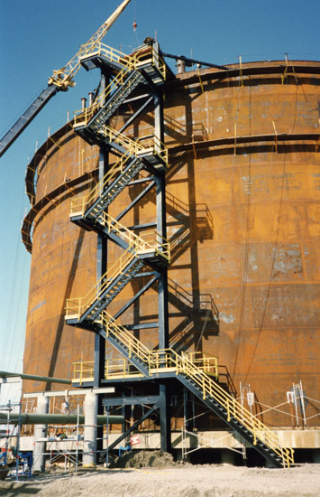137' Diameter x 78' High, API 620 Low Temp Ammonia Storage Tank