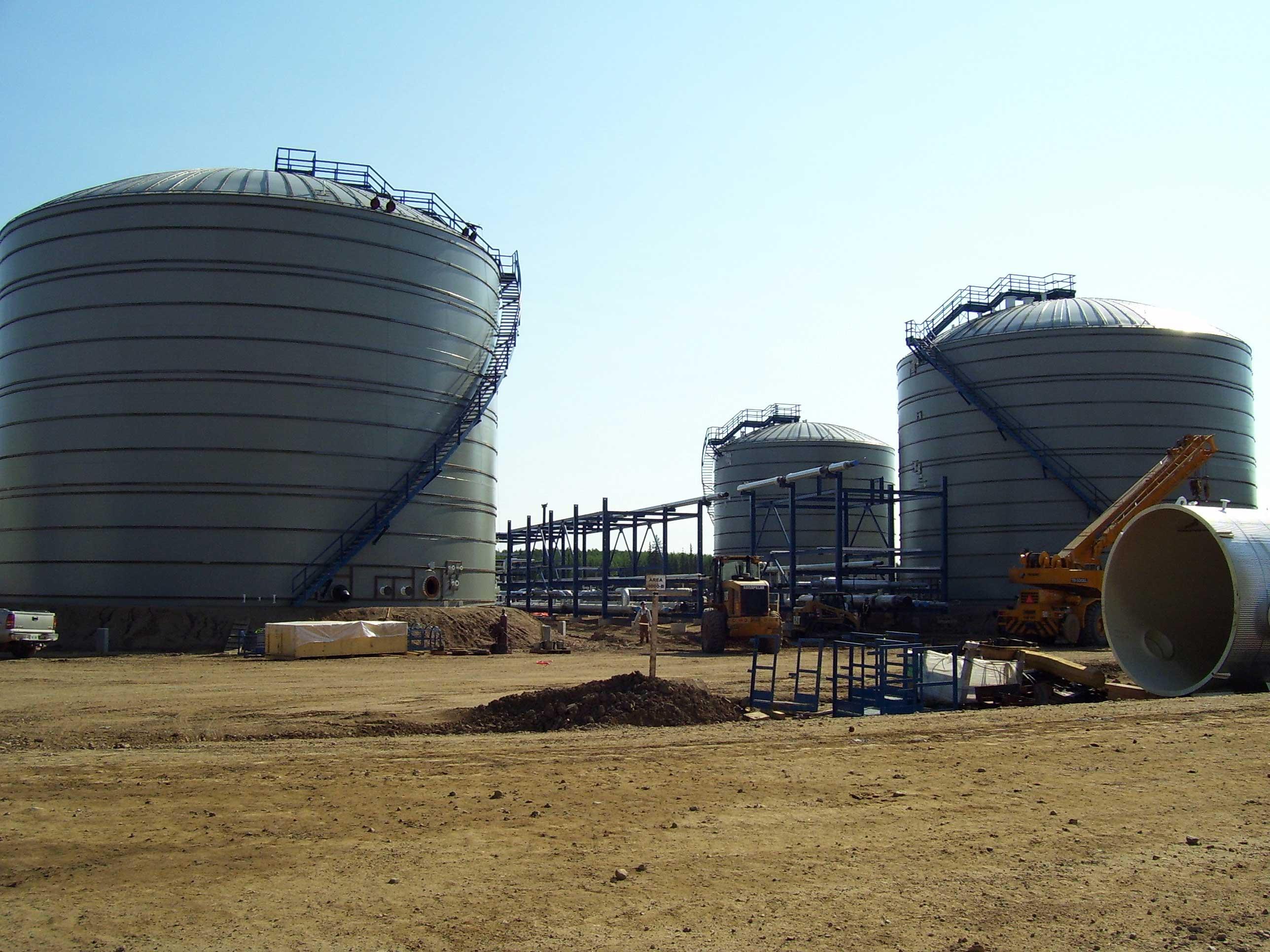 Field Erected Water Storage Tanks
