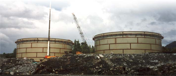 API 650 Tanks under Construction