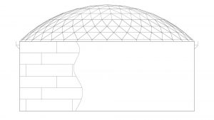 Geodesic Dome Roof No IFR