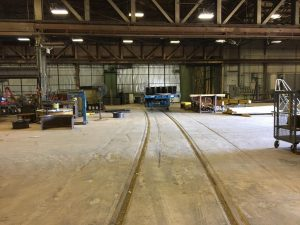 Rail Spur (Indoor Loading)