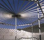 Stainless Column Structurally Supported Cone Roof Tank