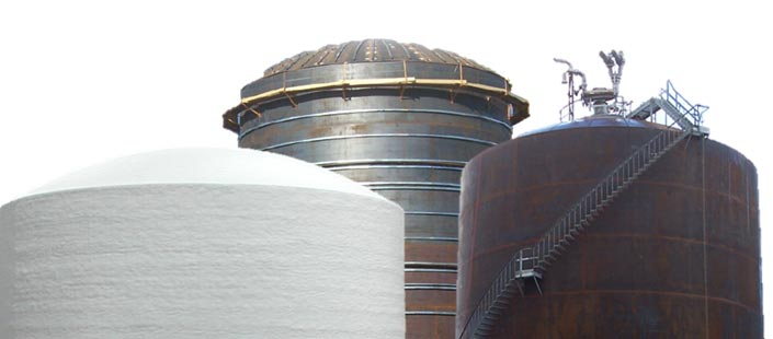 API 620 Tanks Self Supported Dome Roofs