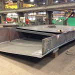 API 650 Tank Steel Pontoon Shop Fabrication