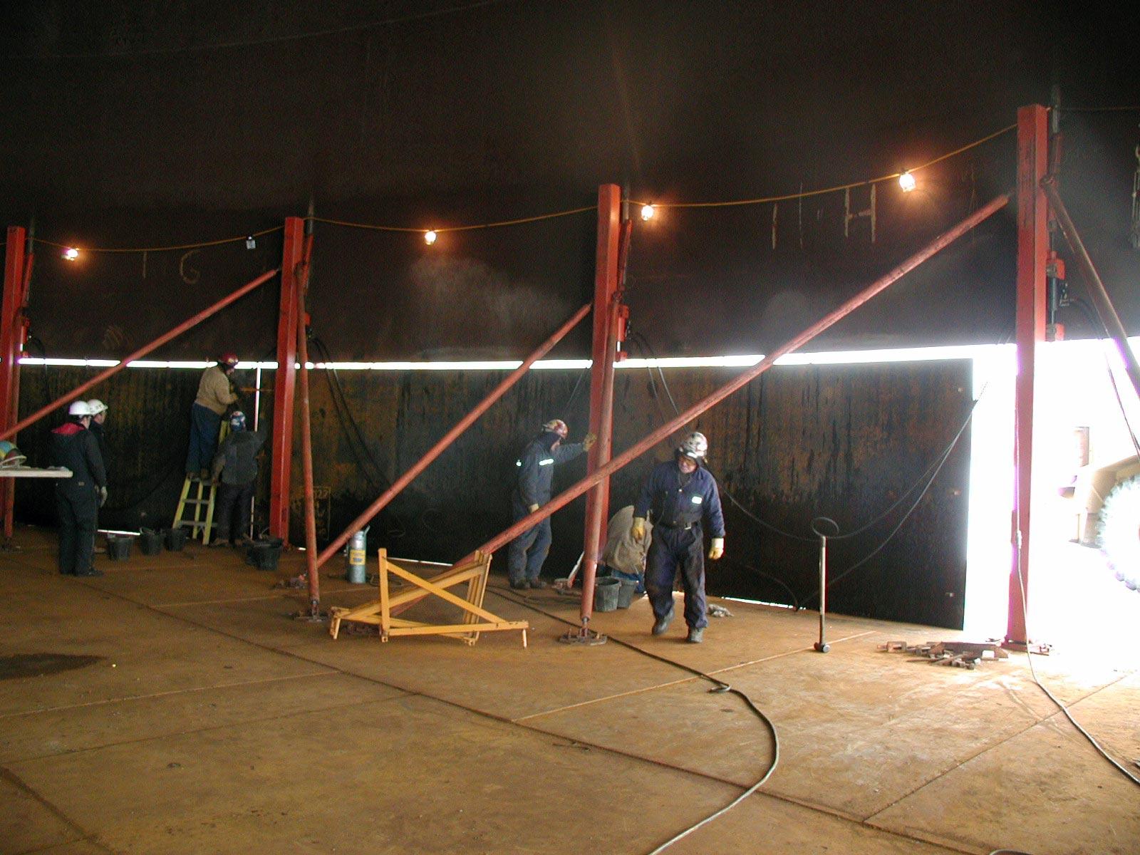 Tank Maintenance Amp Repair Services Tiw Steel Platework Inc