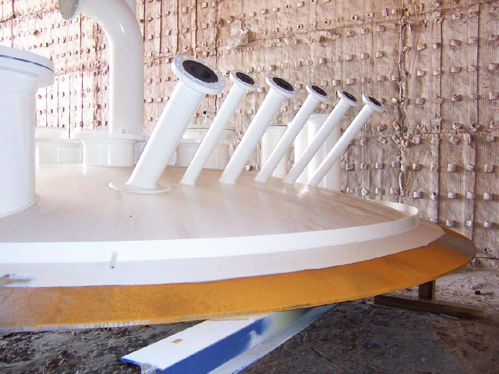 ASME Vessel Pre-Coating