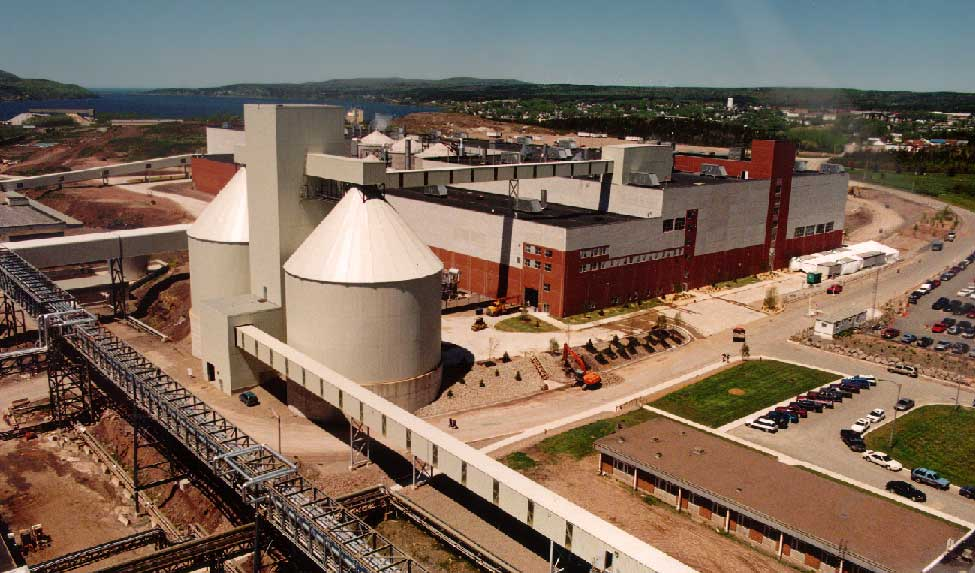 82' x 53' High, Chip Silos for a Pulp & Paper Facility