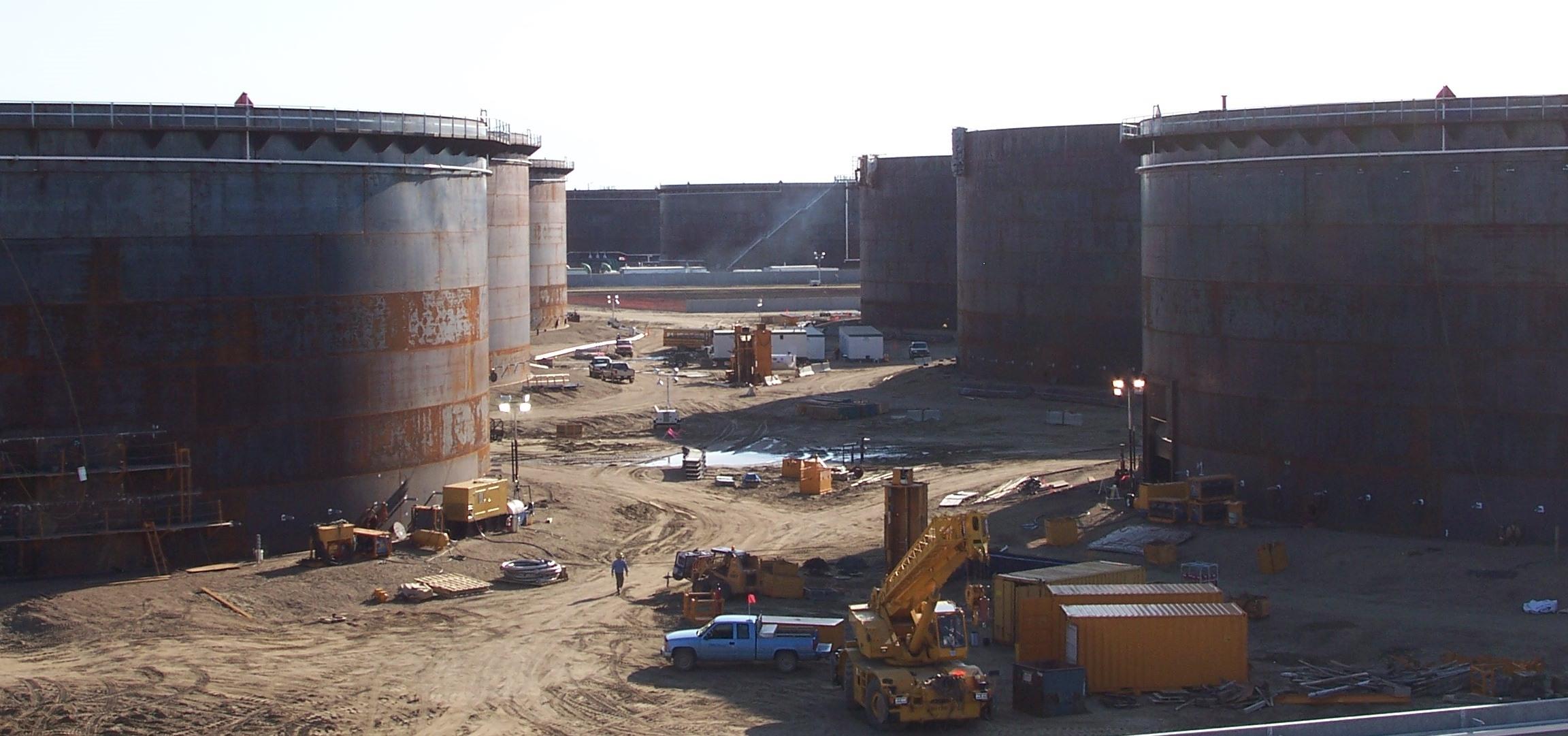 Storage Terminals Amp Pipelines Tiw Steel Platework Inc