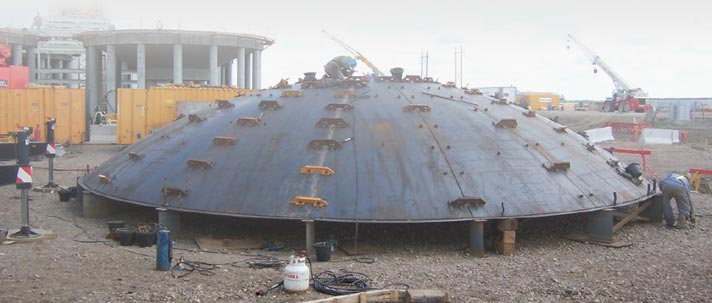 Self Supported Dome Roof