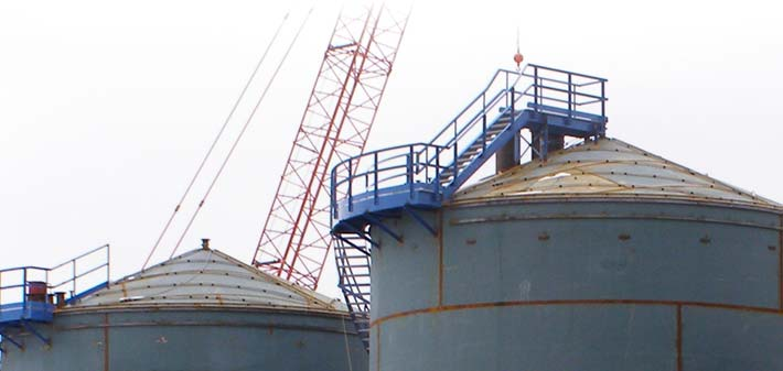 Self Supporting Cone Roof Tanks