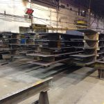 Shop Fabrication of Pontoon Components