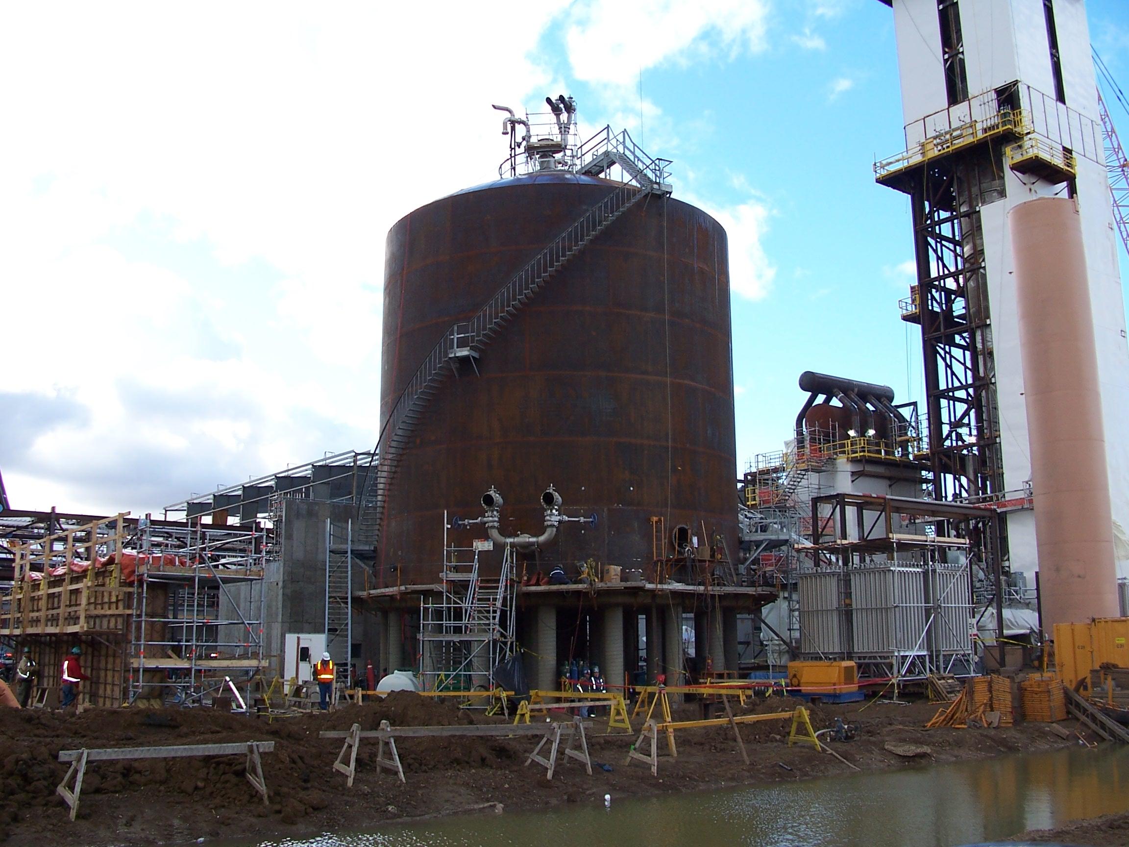 Liquid Gas & Cryogenic Storage - TIW Steel Platework Inc
