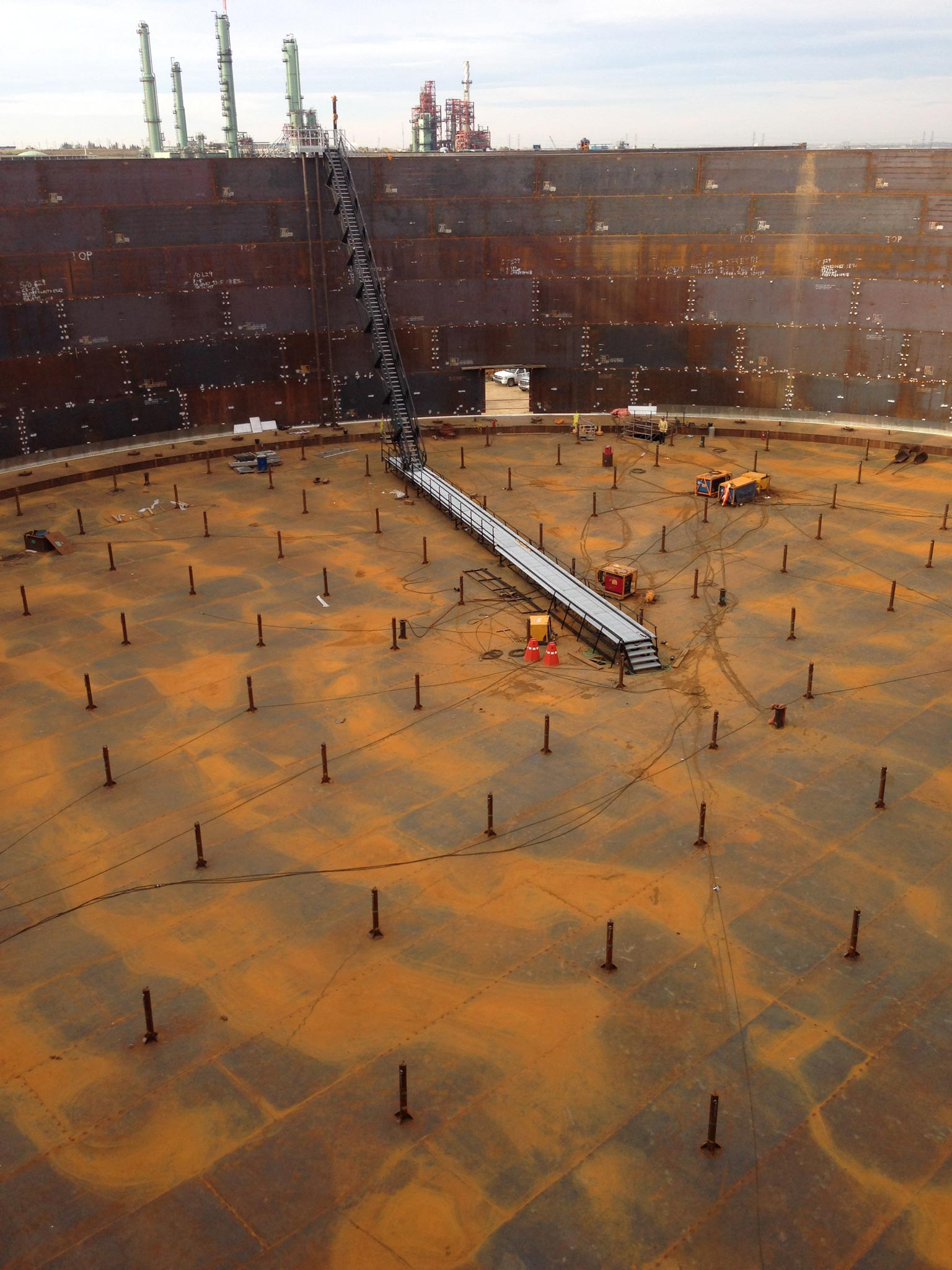Terminal Expansion Project Tiw Steel Platework Inc