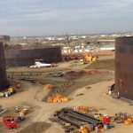 Large Tank Project large diameter API 650 Open Top External Floating Roof