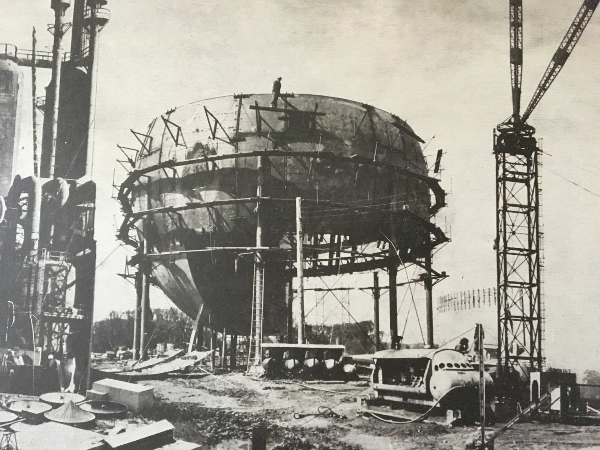 Our History - TIW Steel Platework Inc