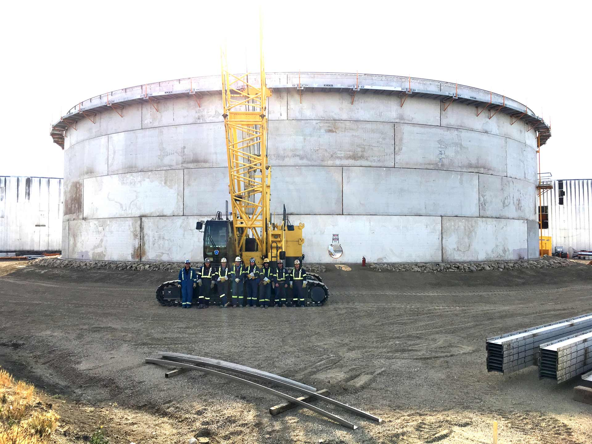 Largest Stainless API 650 Tank in North America