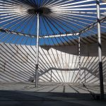 150' x 39' Stainless Column Supported Cone Roof