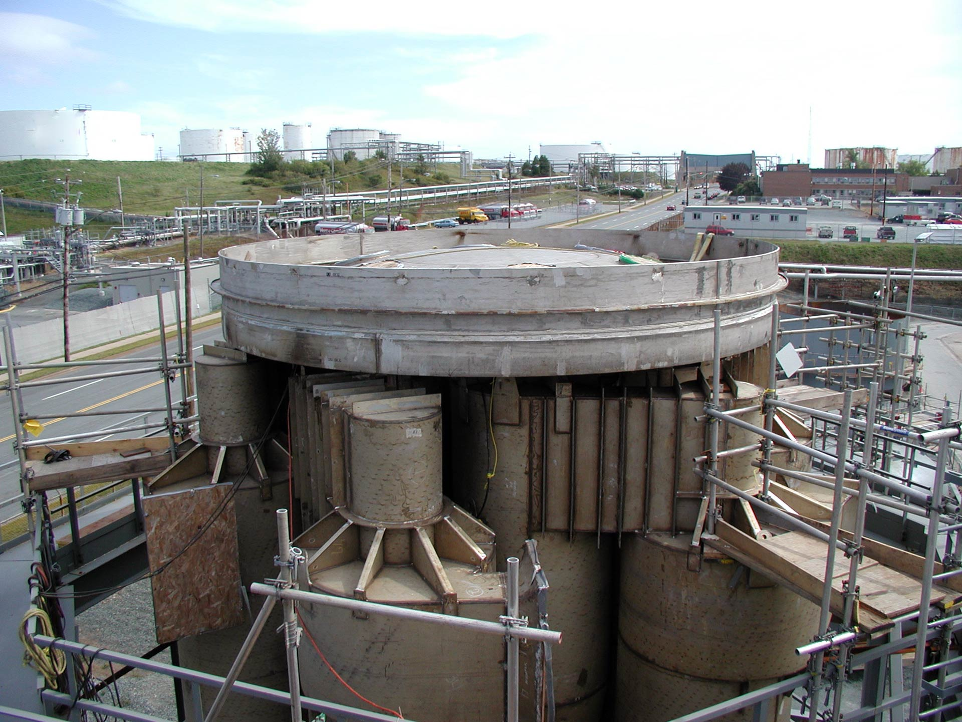 Reactor Cyclone Assembly - TIW Steel Platework Inc