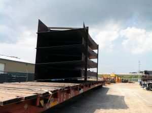 Carbon Steel Pontoon Shipment